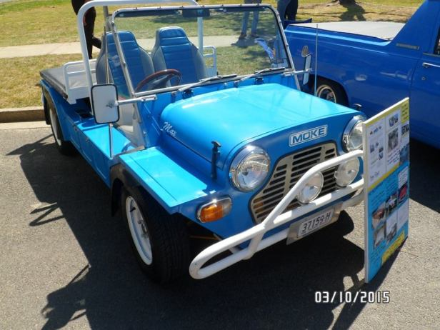 Moke Bungendore Car show Oct 2015